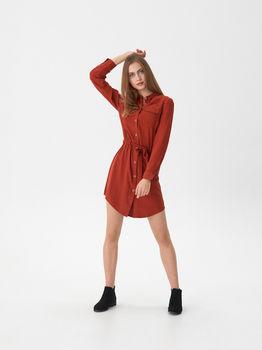 Платье HOUSE Коричневый