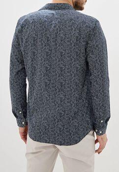 Рубашка JACK&JONES Темно синий с принтом 12158434