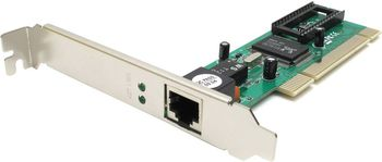 TRENDnet TE100-PCIWN, 10/100Mbps Fast Ethernet PCI adapter, RJ-45 connector, Half or fill-duplex