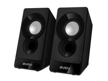 """cumpără Speakers  SVEN """"300"""" Black, 5w în Chișinău"""