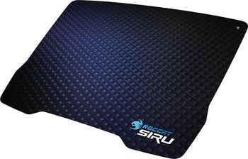 ROCCAT Siru (Cryptic Blue) / Cutting-Edge Gaming Mousepad, Dimensions: 340 x 250 x 0.45 mm, Non-slip backing, Knife-edge thin, Optimized gaming surface