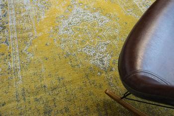 купить Ковёр ручной работы LOUIS DE POORTERE Fading World Yuzu Cream 8638 в Кишинёве