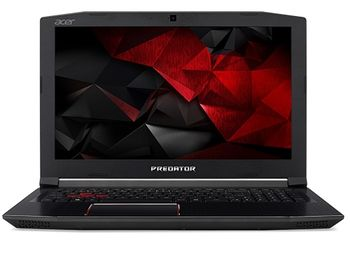 "ACER PREDATOR G3-572 Obsidian Black (NH.Q2BEU.016) 15.6"" FullHD IPS (Intel® Quad Core™ i5-5730HQ 2.50-3.50GHz (Kaby Lake),8Gb DDR4 RAM, 1.0TB HDD, GeForce® GTX1060 4Gb DDR5, DVDRW, CardReader, WiFi-AC/BT,4cell,HDWebcam,RUS,Linux, 2.7kg)"
