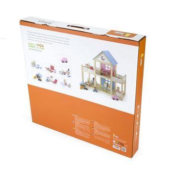купить Viga Деревянный кукольный домик в Кишинёве