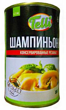 """купить """"Telli"""" Шампиньоны консервированные (резанные) 425мл. в Кишинёве"""