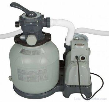 купить Фильтр-насос электрический с песочным фильтром INTEX, 220-240V, 7900 л/час в Кишинёве