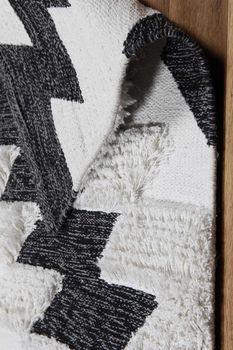 купить Ковёр ручной работы E-H AFRO KILIM, AFR 01 BLACK WHITE 160*230 в Кишинёве