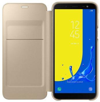 cumpără Husă telefon Samsung EF-WJ600, (J6 2018) Wallet Cover, Gold în Chișinău