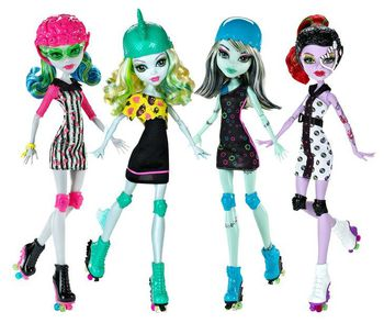 "Monster High куклa ""Спорт"""