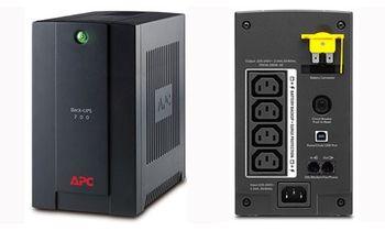 купить APC BX700UI Back-UPS 700VA/390Watts, AVR, 230V, 4 IEC Sockets (Battery Backup), Interface Port USB, RJ-11 Modem/Fax/DSL protection в Кишинёве