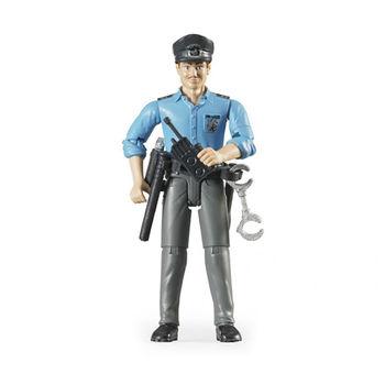 Фигурка полицейского + аксессуары, код 42306