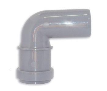 купить Отвод ПП ф. 75 x 90° серый Egeplast M в Кишинёве