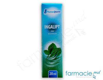 купить Ингалипт, спрей ротоглоточный 20мл (Flumed-Farm) в Кишинёве