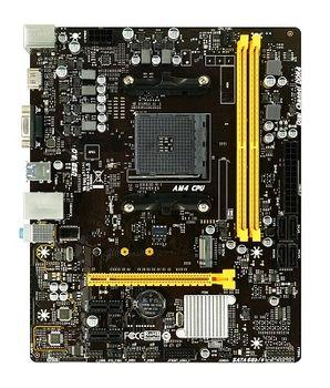 Biostar B450MH, Socket AM4, AMD B450, Dual 2xDDR4-3200, APU AMD graphics, VGA, HDMI, 1xPCIe X16, 4xSATA3, RAID, 1x M.2, 2xPCIe X1, ALC887 HDA, GbE LAN, 6xUSB3.1, 105W, mATX
