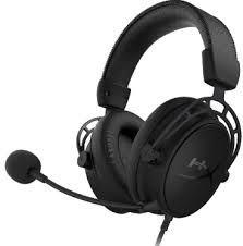 Игровая гарнитура HyperX Cloud Alpha S, драйвер 50 мм, 65 Ом, 13-27000 Гц, 99 дБ, 321 г., черный