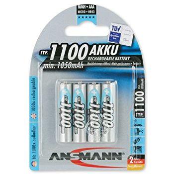 Ansmann AAA NiMH 1100mAh, 4pack (blister)