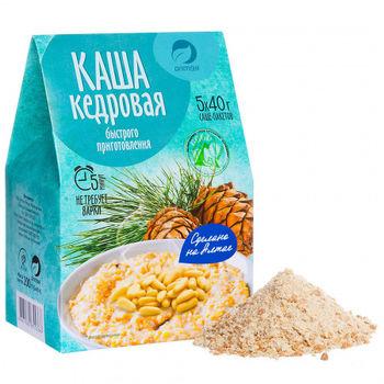 💚 🌿 Каша «Кедровая» 5 саше-пакетов по 40 гр (200 гр).