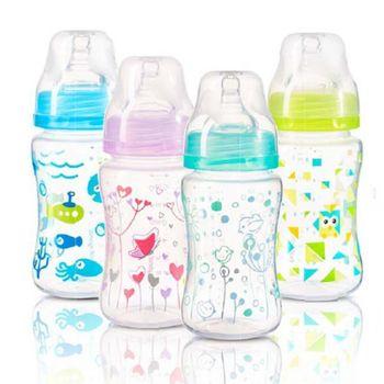 купить BabyOno бутылочка пластиковая антиколиковая с широким горлышком, 240мл в Кишинёве