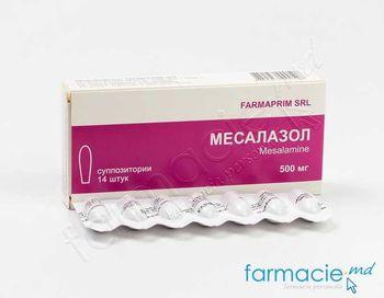 купить Месалазол супп. 500мг N14 (FP) в Кишинёве