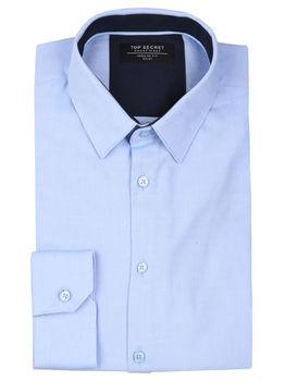 Рубашка TOP SECRET Голубой SKL2769NI