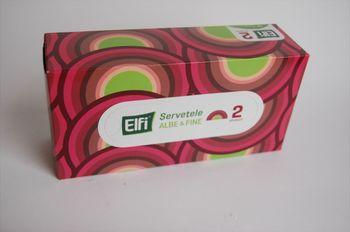 cumpără Servetele cutie ELFI 150buc 2str 21x19.3cm în Chișinău