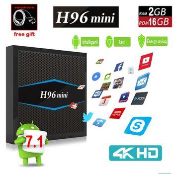 cumpără H96 mini TV Box - BLACK (Amlogic S905W 2GB RAM + 16GB ROM 2.4G + 5G WiFi BT 4.0 Support 4K H.265) în Chișinău