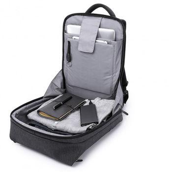 """cumpără Geantă- business Kaka 17012 pentru laptop de 15.6 """", cu port USB, impermeabil, negru în Chișinău"""