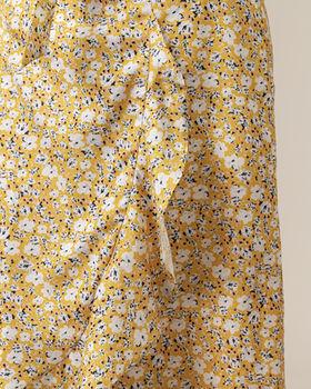 Юбка CO'COUTURE Желтый с принтом 74202 cocouture