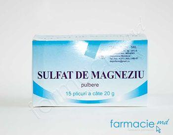купить Magneziu sulfat pulb./sol.orala 20gx12 (Depofarm) (TVA20%) в Кишинёве