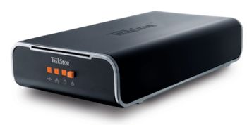 HDD TrekStor 320Gb External DataStation maxi z.ul, 7200 rpm, Autosense 10/100 Base-T RJ45 Ethernet, USB 2.0