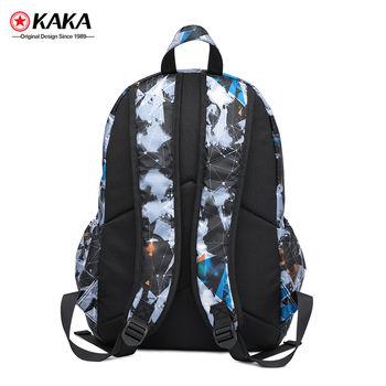 """купить Легкий городской рюкзак Kaka 2220 для ноутбука до 15"""", с USB портом, водонепроницаемый, камуфляж в Кишинёве"""
