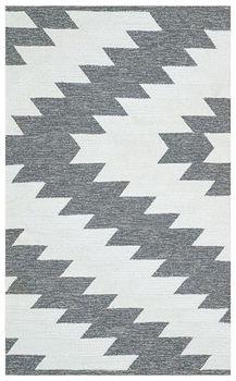 Ковёр ручной работы E-H AFRO KILIM, AFR 02 SILVER WHITE 120*180