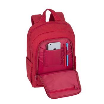 "15.6"" Рюкзак для ноутбука RivaCase 7560, Canvas Red"