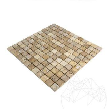 cumpără Mozaic Travertin Yellow Antichizat 2.3 x 2.3cm în Chișinău