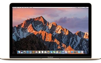 "APPLE MacBook (Mid 2017) Gold, 12.0"" Retina IPS (Intel® Dual Core™ M3 1.2-3.0GHz (Kaby Lake), 8GB DDR3 RAM, 256Gb SSD, Intel HD Graphics 615, WiFi-AC/BT4.2, 10 hours, Force Touch Trackpad, 480p Camera, Backlit KB, RUS, macOS High Sierra, 0.92kg)"