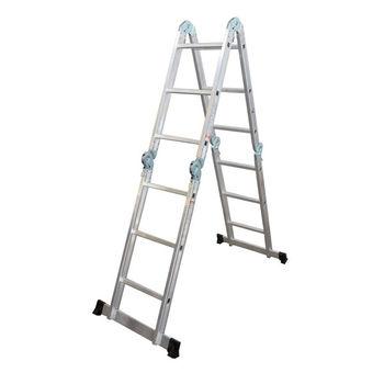 Лестница алюминиевая Sarayli Akrobat 4*3