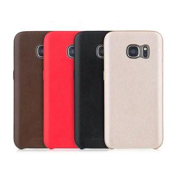 Чехол для Samsung Galaxy S7 Skin series TOTU (Red /Gold/ Brown )