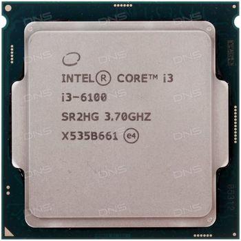 Intel® Core™ i3 6100, S1151, 3.7GHz, 3MB L3, Intel® HD Graphics 530, 14nm 51W, tray