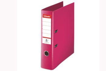 Папка сегрегатор Esselte Standard, 75mm (вишн)
