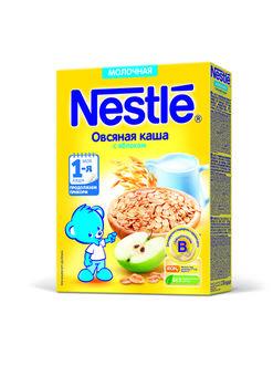 cumpără Nestle terci de ovăz cu lapte şi măr, 5+ luni, 220 g în Chișinău