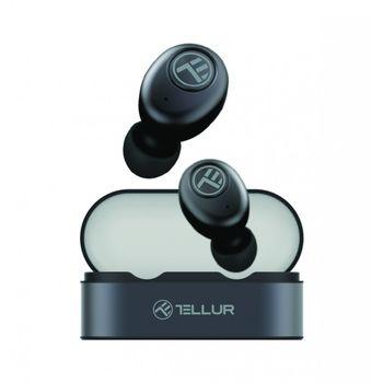 купить Cască Bluetooth Tellur Sedna True Wireless, Gri в Кишинёве