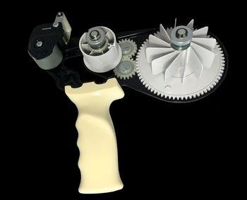 Ручной диспенсер для двухсторонних лент до 25мм.