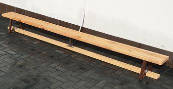 Гимнастическая скамья деревянная 4 м (1353) (под заказ)