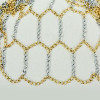 Сетка баскетбольная (металл, 12 петель) С-0814 (2719)