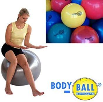 Мяч гимнастический 65 см, 1.3 кг (макс. 250 кг) Dittmann Professional pink (3740)