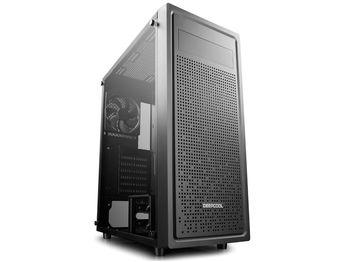 купить Case ATX Deepcool E-SHIELD, w/o PSU, 1x120mm, Tempered Glass, Magnetic dust proof net, USB3.0, Black в Кишинёве