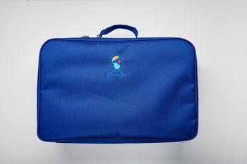 купить Cумка для роддома Mama Box (48x32x19 см) синяя в Кишинёве