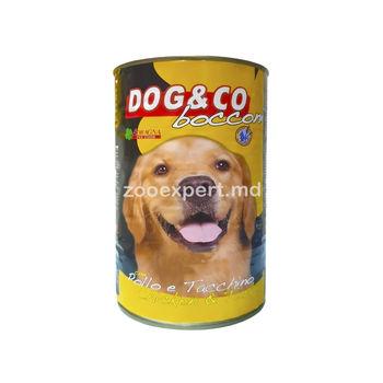 Dog & Co курица с индейкой 1250 gr