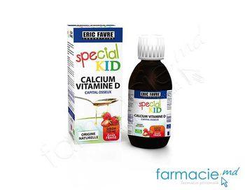 cumpără Special Kid Calcium Vitamine D sirop 125ml în Chișinău