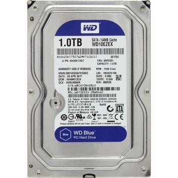 """1.0TB 3.5"""" HDD Western Digital WD10EZRZ Caviar® Blue™, 5400rpm, 64Mb, SATAIII"""